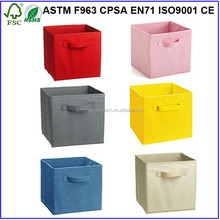 Foldable non-woven Fabric Toy Storage box for Kids