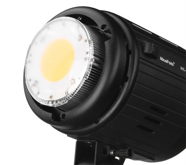 NiceFoto Studio lighting 100W LED video light with Bluetooth remote control