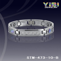 316l stainless steel metal bangles and bracelet hand chain for men boys