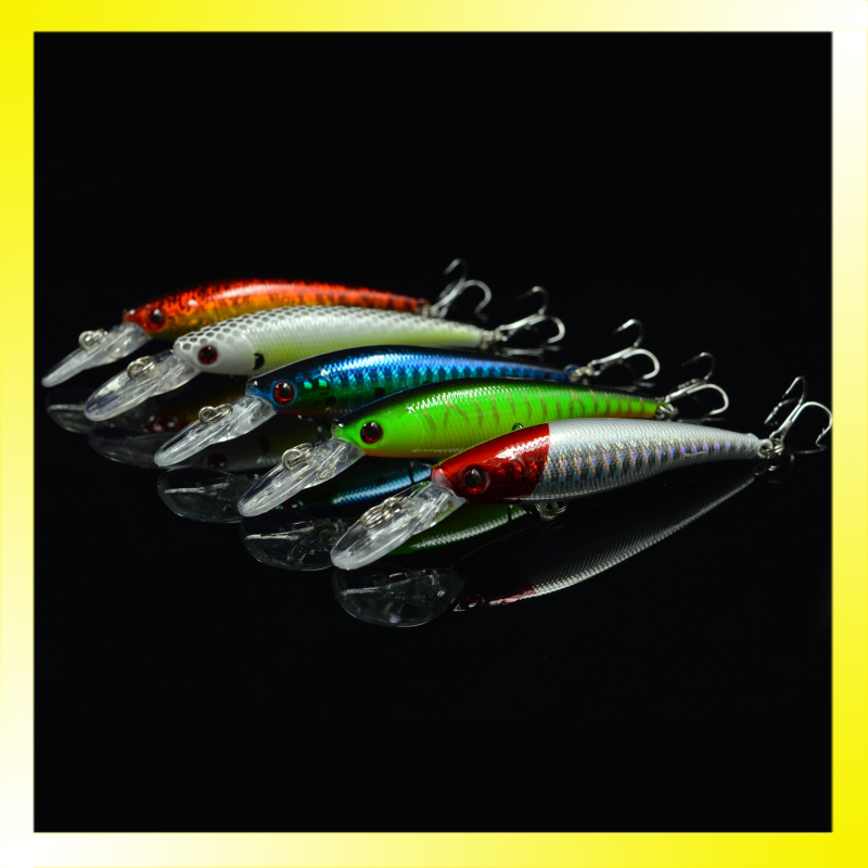 Hard Plastic Minnow Fishing Lure