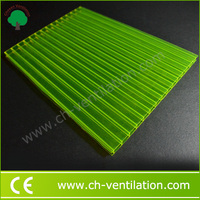 100% Eco-friendly double wall 6mm polycarbonate corrugated sheet