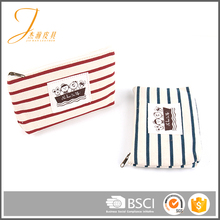 New design 2017 Factory wholesale New design canvas cosmetic bag