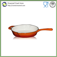 porcelain enamel cookware cast iron cooking pan cake pans