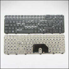 Teclado Spanish SP layout Laptop Keyboard For HP Pavilion DV7-6000 DV7-6100 DV7-6200 WITH FRAME