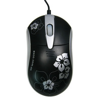EXCO customized hot sell mini wireed finger style mouse with 3 buttons for microsoft computer