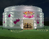 Nice and cheap design inflatable giant tent for party, wedding, events S1060