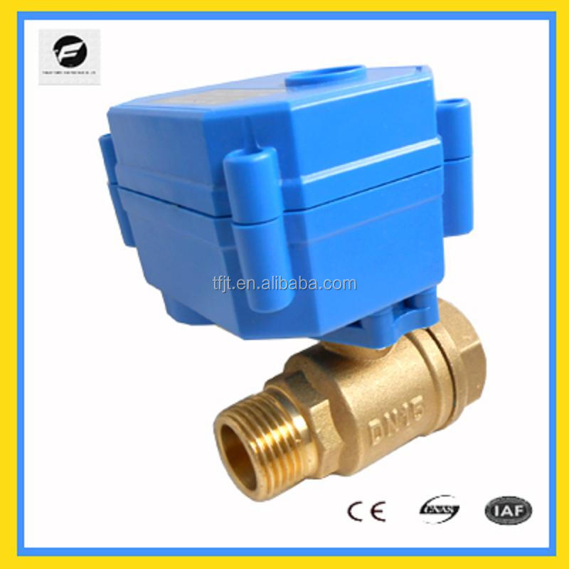 CWX-15 irrigation hydrant,water meter mini electric ball valve 2,3,5wires 12v 24v