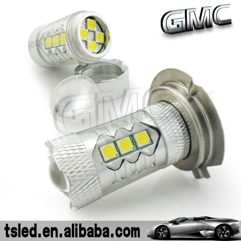 Error free H7 Cree&Sumsung chip led car lights, car led lights