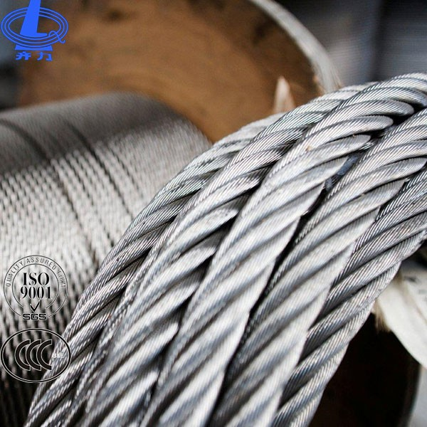 Dia. 40MM Steel Wire Rope Coated with Asphalt