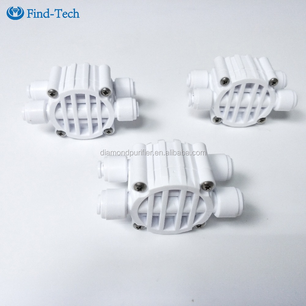RO water purifier spare parts quick fittings four way Valve