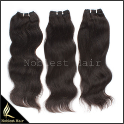 3 bundles/lot for the Malaysian virgin hair machine made wefts natural color natural straight can be sent in 24 hours
