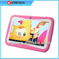 7 inch Best Low Price Tablet PC, Allwinner A13 Android 4.1 Kids Tablet for Children with LED Backlit Wifi Dual Camera G-sensor