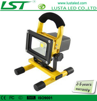 Battery Powered Work Light, Samsung Battery, 5W/10W/20W/30W/50W, Portable Rechargeable LED Projectors