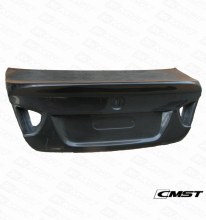2005-2011 C STYLE CARBON FIBER REAR TRUNK BOOT LID FOR BMW E90