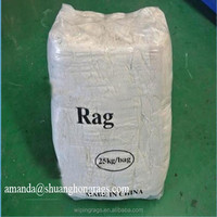 Cheap price white cotton rags for industrial cleaning
