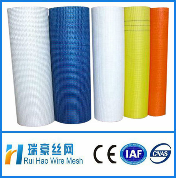 colorful concrete fiberglass mesh for protect wall