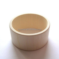 Custom printing logo solid wooden bangle,unfinished wood bracelet accept OEM