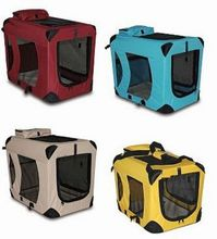 new design folding arrival foldable soft fabric dog kennel