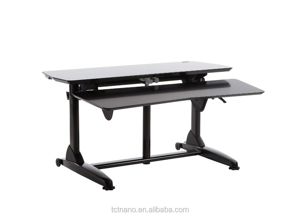 tct poste de travail g3 l hauteur r glable tilt mesure ordinateur de bureau table en bois id de. Black Bedroom Furniture Sets. Home Design Ideas