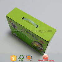 Single wall double three five layers flute corrugated carton box