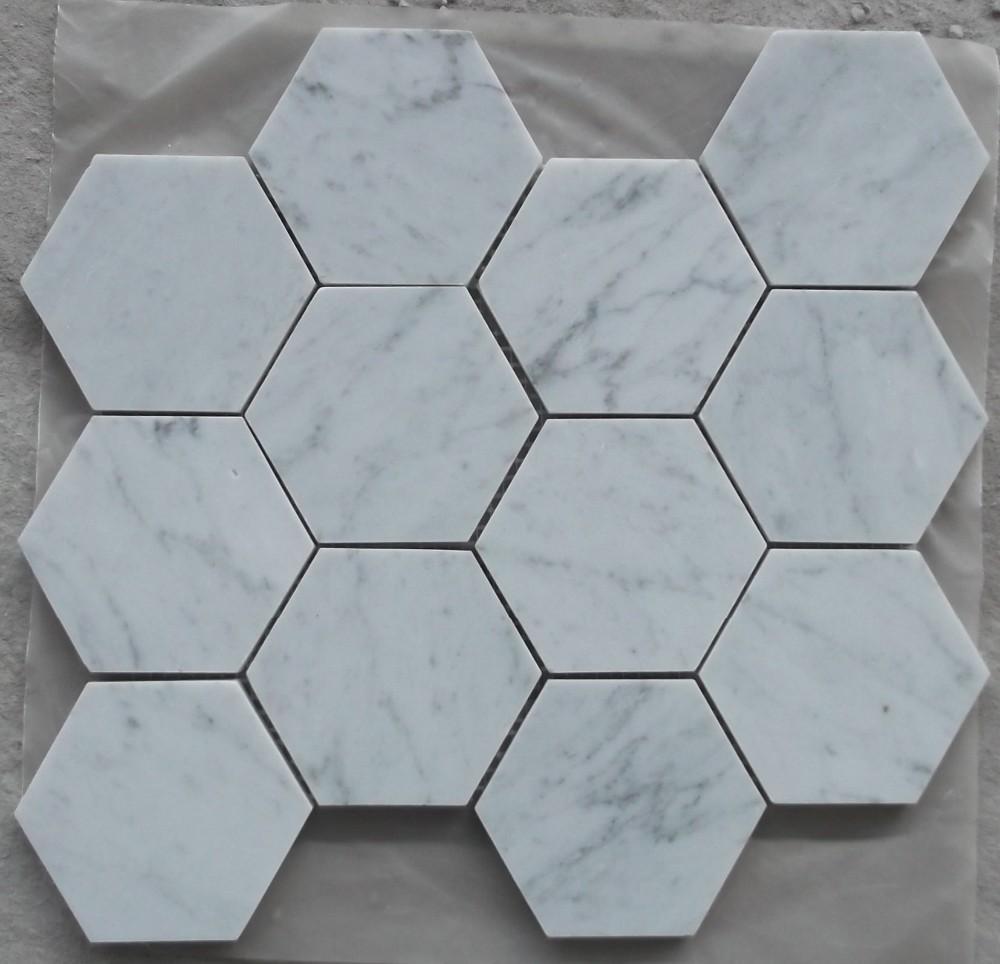 Wholesale carrara marble mosaic tiles - Online Buy Best carrara ...