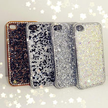 Luxury Bling Crystal Diamond Mobile Phone Cover Case for iPhone 5s 6 for Samsung S4 S5 S6