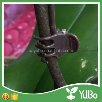 Indoor and outdoor plastic garden plant support clip, greenhouse orchid clip, garden ornaments