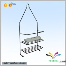 Factory supplier wholesale hotel furniture decorative high quality metal bedroom wall shelf