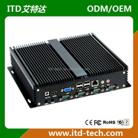 Intel Celeron 1037U dual core mini industrial PC