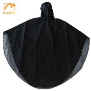 rain proof safety high quality adult promotion rain poncho for electric bikes raincoat adult