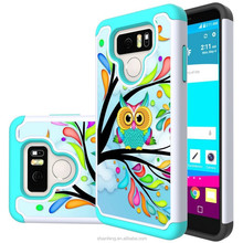 High quality Mobile phone PU leather Skin hard case for LG, G6