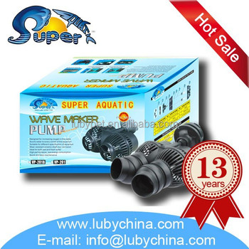6000l/h Variety of shapes aquatic Wave Maker pump for fish aquarium