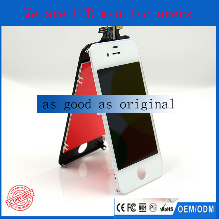 3.5 inch screen mobile phone lcd for iphone 4S display
