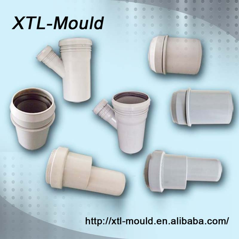 PVC Y Branch Sanitary Pipe Fittings, PVC Pipe Fittings Male Adapter