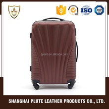 "Customized made high quality trolley unique design 20'' 24'' 28"" luggage sets"