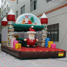 Christmas inflatable bouncer