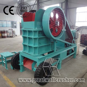 Best Selling Low price 8-15 t/h mini portable diesel crusher for sale Indonesia