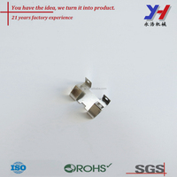 OEM ODM Custom tin plating/silver plating battery contact piece for electronics
