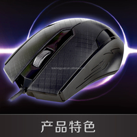 Mini new style comfortable handing computer wired mouse