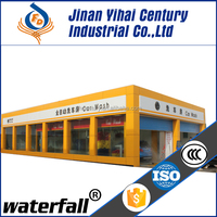 automatic tunnel car wash equipment with high quality and moderate prices