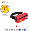 Waist bag inflatable life jacket