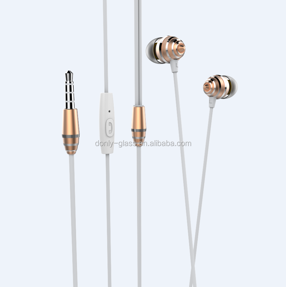 2017 NEW ARRIVAL Unique design AND Private Mold Wired In-ear headphones earphones