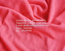 100% natural bamboo knitting fabric with environment friendly
