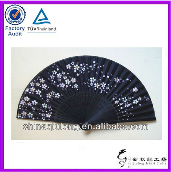 Handicraft Product Korean Hand Fan Bulk Bamboo