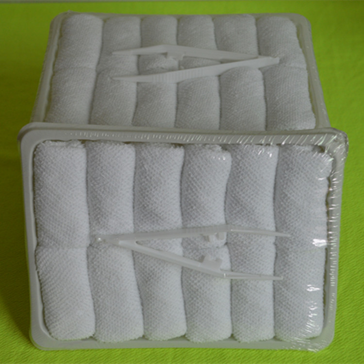 china manufacturer compressed towel, disposable airline hot towels