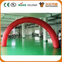 Latest product low price christmas decoration inflatable arch fast shipping
