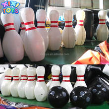 XIXI TOYS 2m H Sealed Giant Inflatable Human Bowling Pins Sport Games
