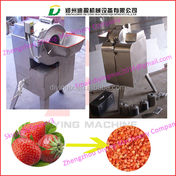 Strawberry dicing machine/Strawberry dicer /Strawberry cuber machine with factory price
