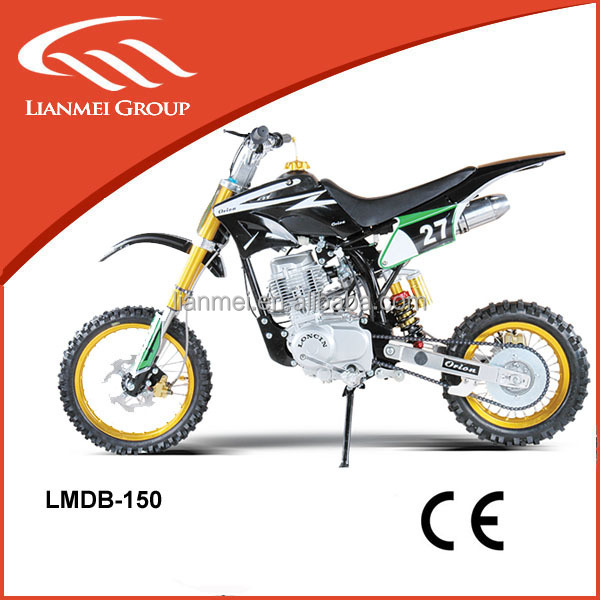 new style hot selling 150cc dirt bike for sale cheap