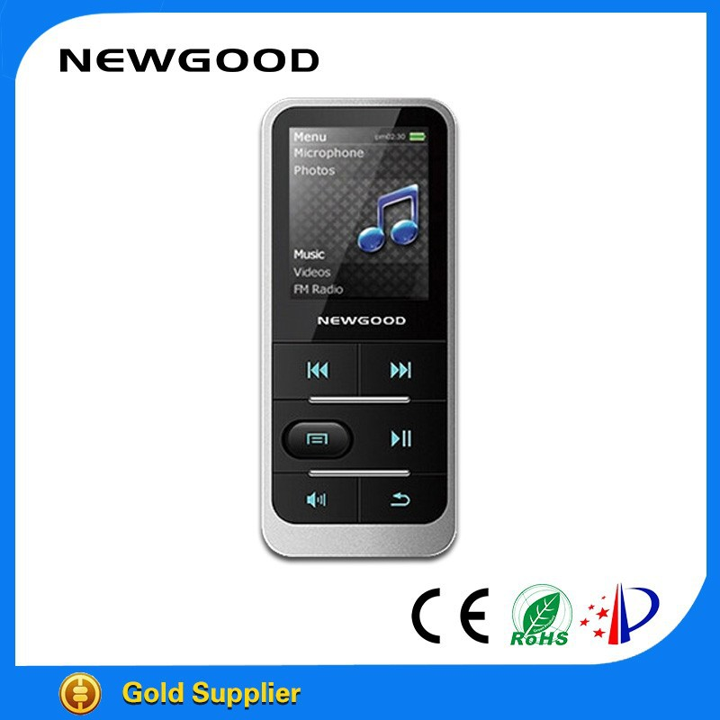 NEWGOOD hot sale super mini sport <strong>mp3</strong> music player for jogging and running